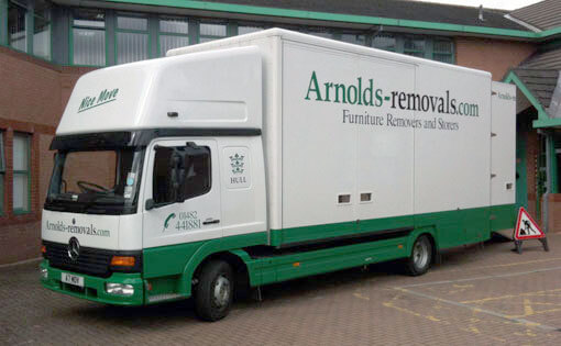 Arnolds Removals van